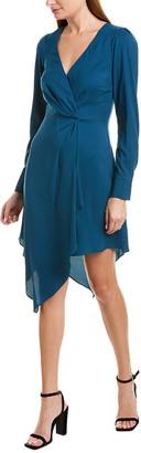 Parker Asymmetrical Midi Dress