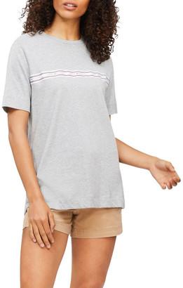 Tommy Hilfiger Lifestyle Logo Tape Organic Cotton T-Shirt