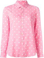 Saint Laurent polka-dot shirt - women - Viscose - 36