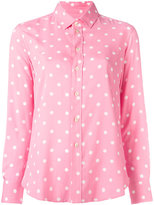 Saint Laurent polka-dot shirt - women - Viscose - 38