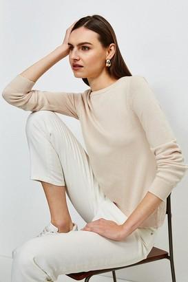 Karen Millen Lace Knit Back Jumper