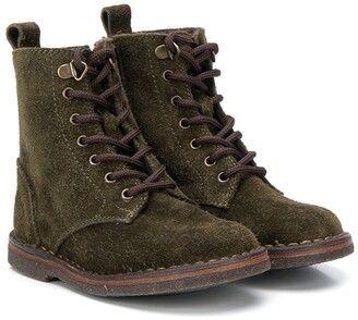 Pépé Lace-Up Hiking Boots