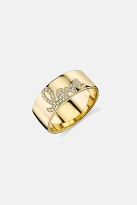 Sydney Evan Diamond Love Band Ring