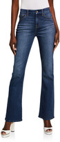 Thumbnail for your product : Jen7 High-Rise Slim-Fit Boot Cut Jeans