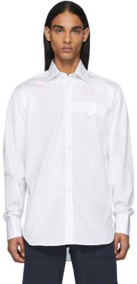 Bottega Veneta White Poplin Shirt
