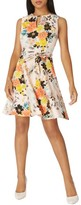 Dorothy Perkins Women's Floral Poplin Wrap Dress