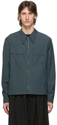 Lemaire Blue Light Blouson Jacket