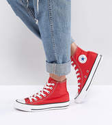 Converse Chuck Taylor High Sneakers In Red