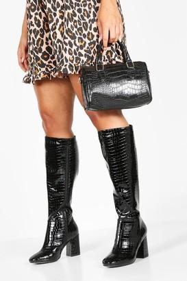 boohoo Extra Wide Width Knee High Boots