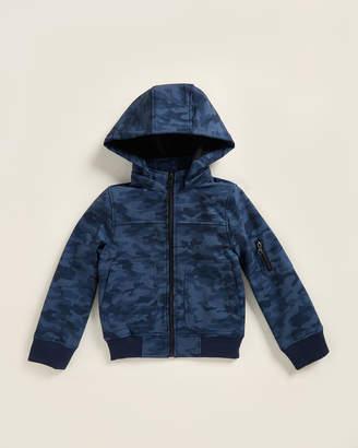 Urban Republic Boys 8-20) Navy Camouflage Full-Zip Softshell Jacket