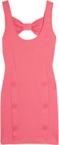 Juicy Couture Bow-back jersey mini dress