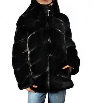 MICHAEL Michael Kors Faux Fur Jacket