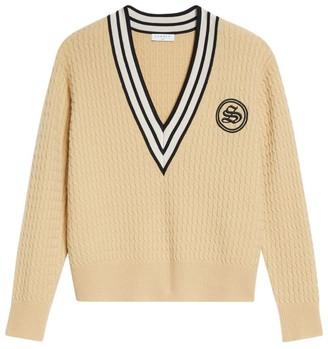 Sandro Oversized Sweater