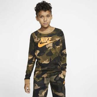 Nike Big Kids' (Boys') Long-Sleeve T-Shirt Sportswear