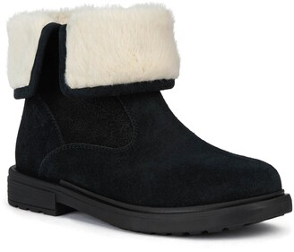 Geox Eclair Bootie with Faux Fur Lining