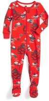 Tea Collection Infant Boy's Mizuchi Fitted One-Piece Pajamas