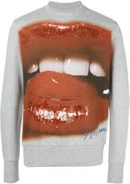 Vivienne Westwood Man mouth print sweatshirt