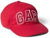 Logo wool baseball hat