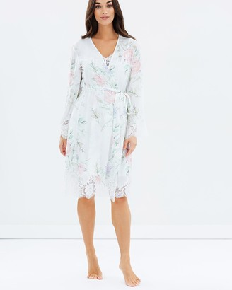 Homebodii Sofia Floral Lace Robe