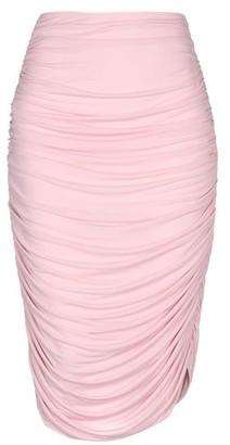 Norma Kamali 3/4 length skirt