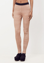 Jil Sander light contrast waistband pant