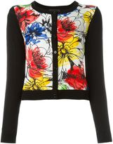 Moschino floral print cardigan