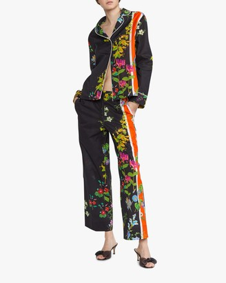 Cynthia Rowley Botanical Print Pajama Pants