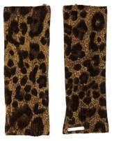 MICHAEL Michael Kors Leopard Print Gloves