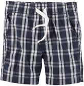 Carter's Baby Boy Pull-On Plaid Shorts