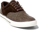 Polo Ralph Lauren Vaughn Tweed–Suede Sneaker