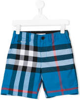 Burberry Check print shorts