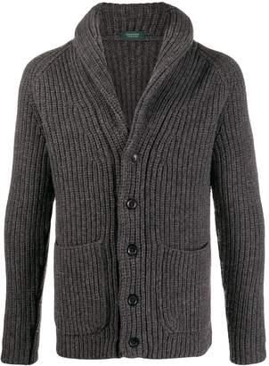Zanone shawl collar cardigan