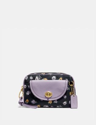 Coach Cargo Belt Bag With Vintage Rose Print