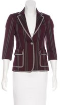 Boy By Band Of Outsiders Wool-Blend Striped Blazer