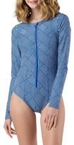 Women's Mott 50 Long Sleeve One-Piece Swimsuit
