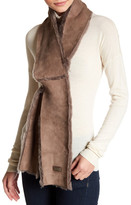 Australia Luxe Collective Cravat Genuine Shearling Scarf