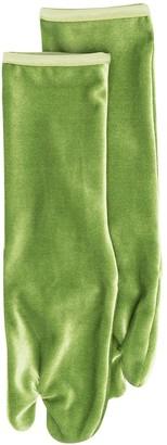 Simone Wild Velvet Ankle Socks