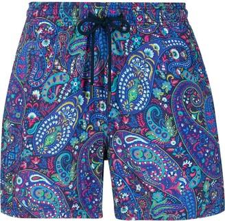 Etro paisley pattern swim shorts