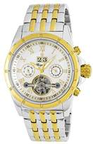 Burgmeister Men's ' Automatic Stainless Steel Casual Watch, Color:Two Tone (Model: BM127-117)