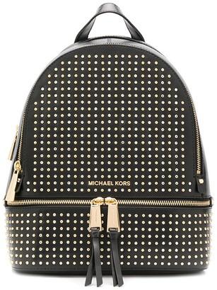 MICHAEL Michael Kors Studded Zip-Up Backpack