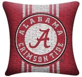 NCAA Alabama Crimson Tide Woven Pillow - Multi-Colored