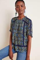 Daniel Rainn Tina Embroidered Lace Blouse