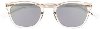 Saint Laurent Eyewear SL28 Slim soft-square frame sunglasses