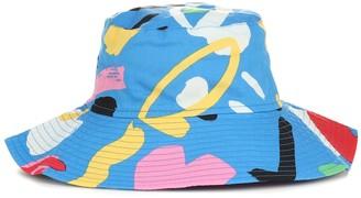 Stella McCartney Kids Printed cotton bucket hat