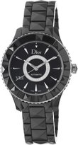 Christian Dior Women's CD1245E0C002 VIII Diamond Dial Automatic Black Dial Watch