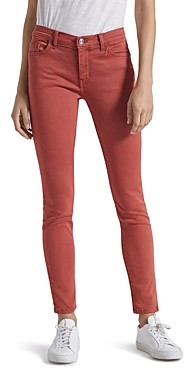 Current/Elliott The Skinny Stiletto Jeans in Washed Berry