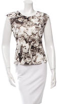 Robert Rodriguez Sleeveless Printed Top w/ Tags