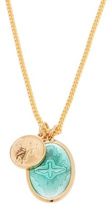 Miansai Dove Pendant Gold-vermeil Chain Necklace - Mens - Gold