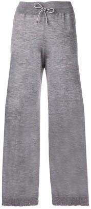 Barrie Fine-Knit Wide Trousers