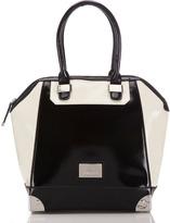 Black And White Juno Tote Bag